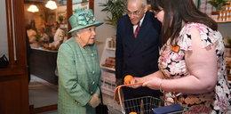 Królowa w supermarkecie! Zadała zaskakujące pytanie