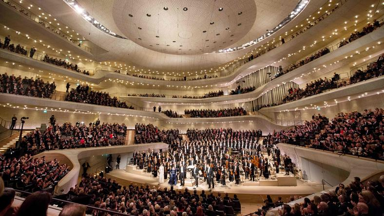 GERMANY-MUSIC-ENTERTAINMENT-ELBPHILHARMONIE