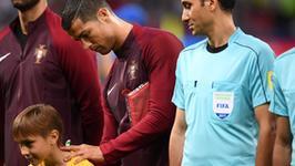 Miły gest Cristiano Ronaldo przed meczem z Chile