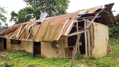 Deathtrap: Poor infrastructure crippling education at Koransang school