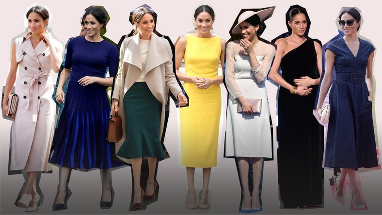 To Byl Jej Czas Najlepsze Stylizacje Meghan Markle Z 2018 Roku Moda