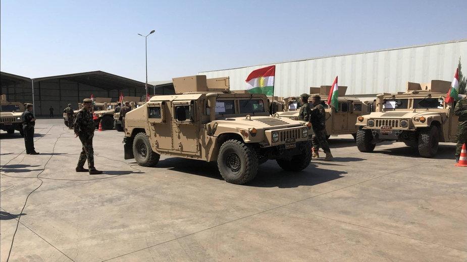 Amerykańska baza w Erbil
