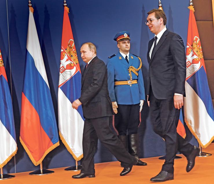 Putin i Vucic