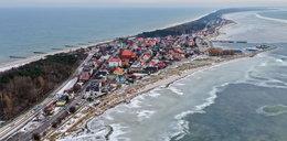 """""""Lodowe tsunami"""" na Półwyspie Helskim. To pełzające torosy"""