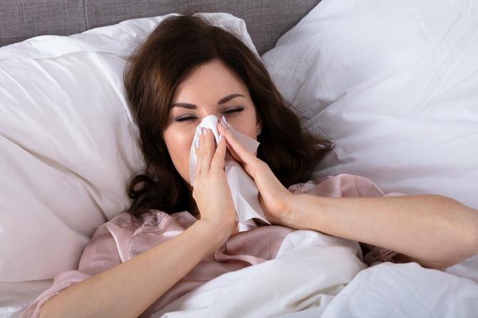 Oko 50 odsto pacijenata ispoljava tegobe nekoliko meseci tokom godine, najčešće oko četiri meseca