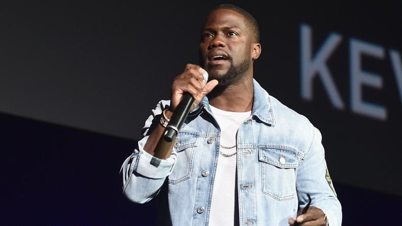 Kevin Hart has been involved in a car accident in which he suffered some major back injuries.