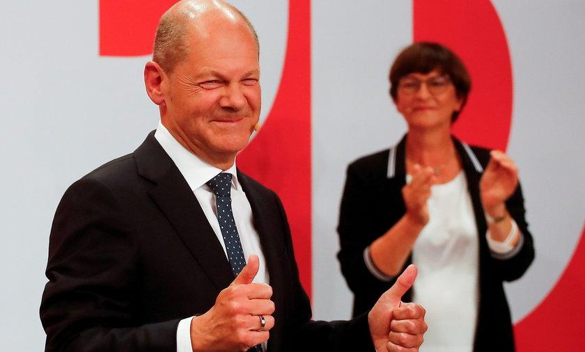 Niemcy: wyniki wyborów do Bundestagu. SPD wygrała