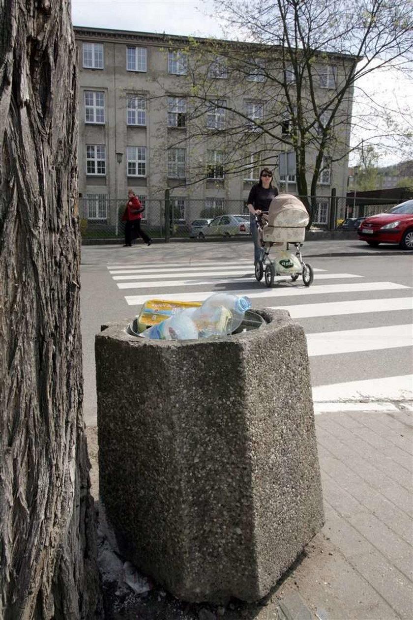 W Gdyni czysto tylko w centrum