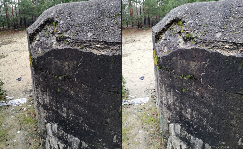 Z lewej zdjęcie zrobione Honorem 7X, z prawej Huaweiem Mate 10 Lite