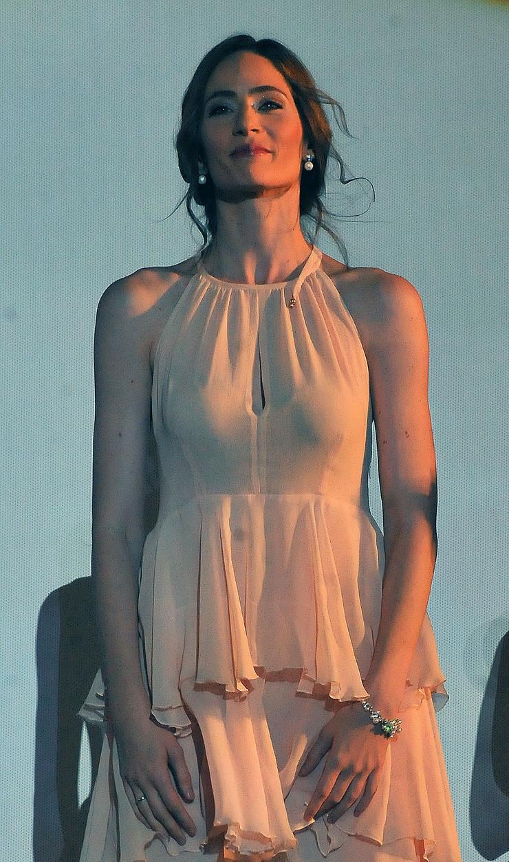 Marija Bergam prvi put na filmu, Niš, Filmski susreti
