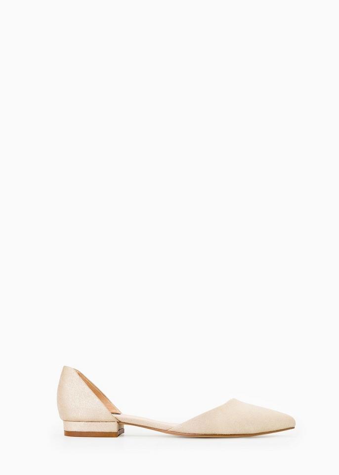 c54b1d5fadc9c Najmodniejsze buty na wiosnę 2015 - baleriny z wycięciem