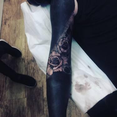 Czarne Tatuaże Wypełnione Tuszem Od A Do Z Albo Je Kochasz Albo