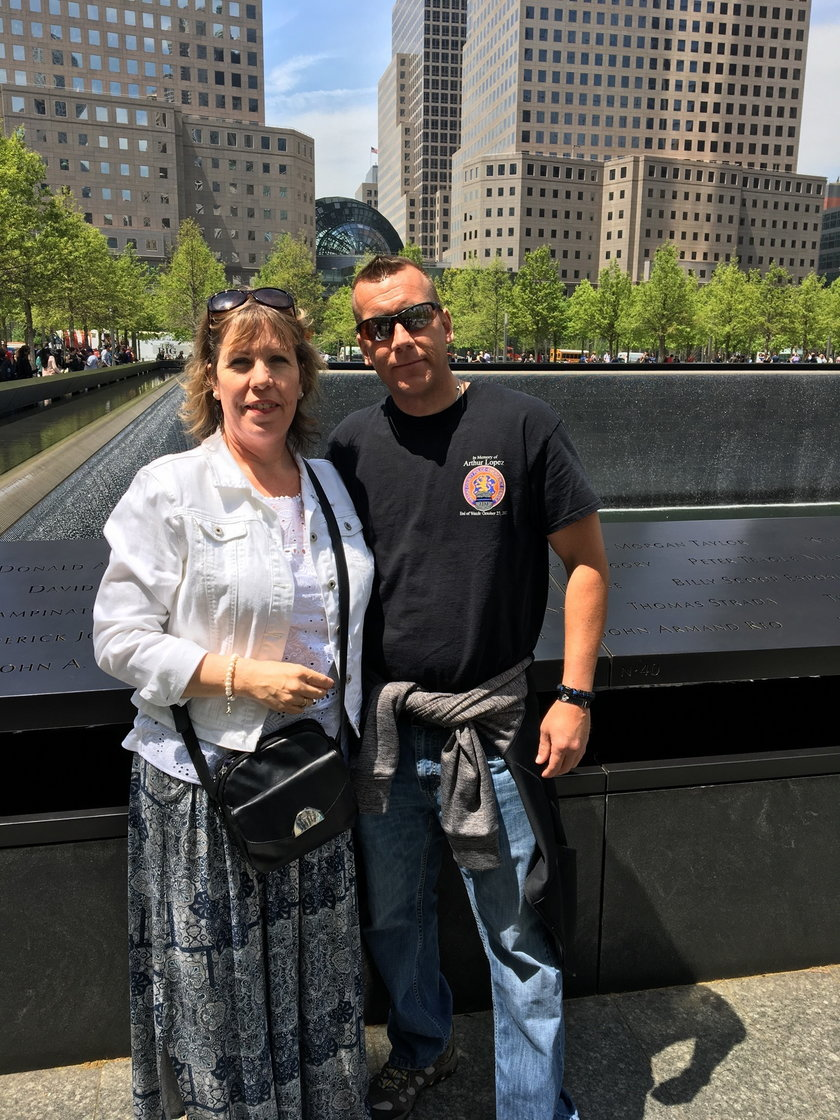 Sue Harrison przyleciała na spotkanie do Nowego Jorku