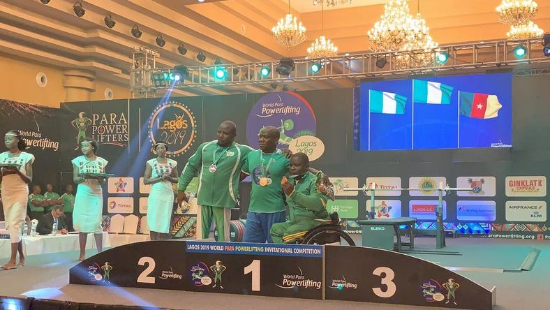 Are Feyisetan is proud of the Nigerian athletes at the World Para Powerlifting Championships [Nigeria para powerlifting ]