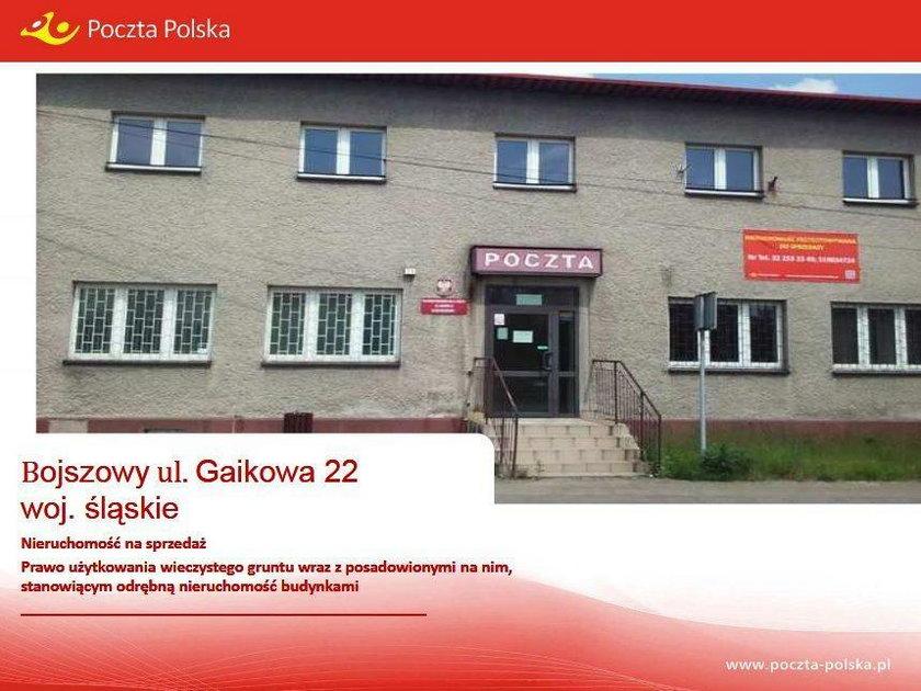 Budynek Poczty Polskiej z Bojszowy
