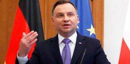 Kuriozalna wypowiedź prezydenta w Berlinie. Duda mówił o... żarówkach