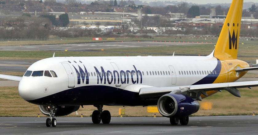Monarch Airlines nie mogą sprzedawać pakietów wakacyjnych. Linia odwołała loty od 2 października 2017 r.