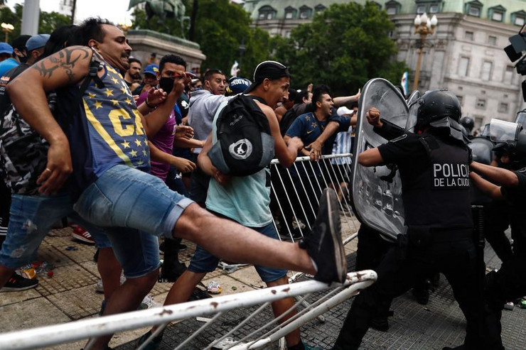 Maradona - policija