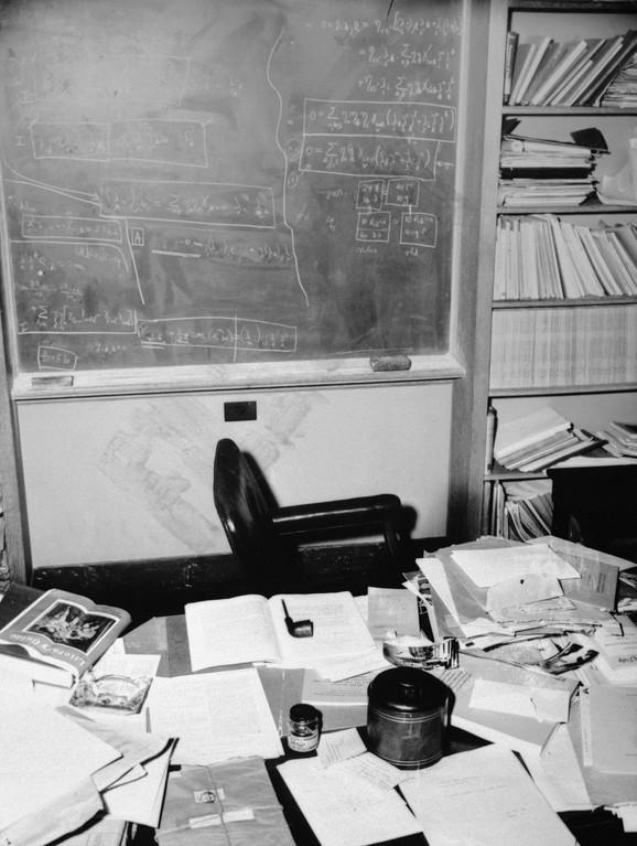 Radni sto Alberta Ajnštajna