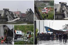 ITALIJA U CRNOM Među žrtvama rušenja mosta i dete, stotine spasilačkih ekipa sa psima pretražuju ruševine u potrazi za telima (FOTO, VIDEO)