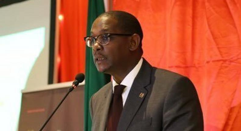 Chief Of Staff, Office of The President Nzioka Waita