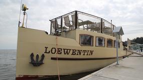 """""""Loewentin"""" - najstarszy statek na Mazurach"""
