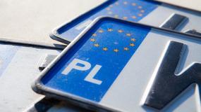 Polskie tablice rejestracyjne - rozpoznasz, skąd pochodzą? [QUIZ]