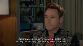 Robert Downey Jr. przerwał wywiad - Flesz Filmowy
