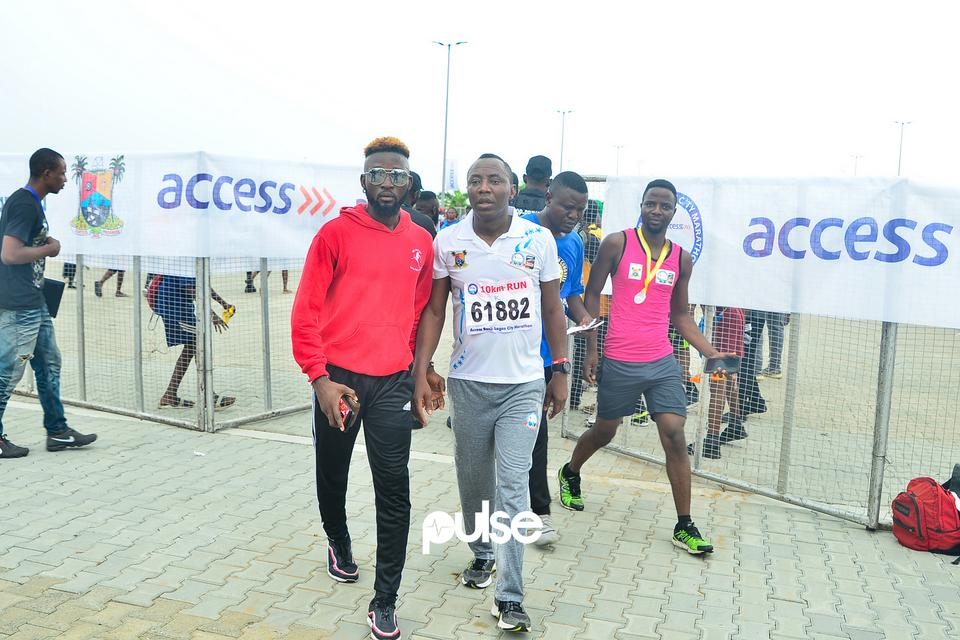 Sowore at Access Bank Lagos City Marathon 2019