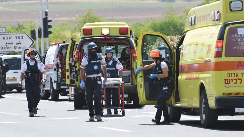 Izrael: runęła trybuna w synagodze. Wiele osób rannych