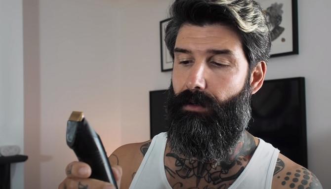 Obrijao se prvi put posle 10 godina