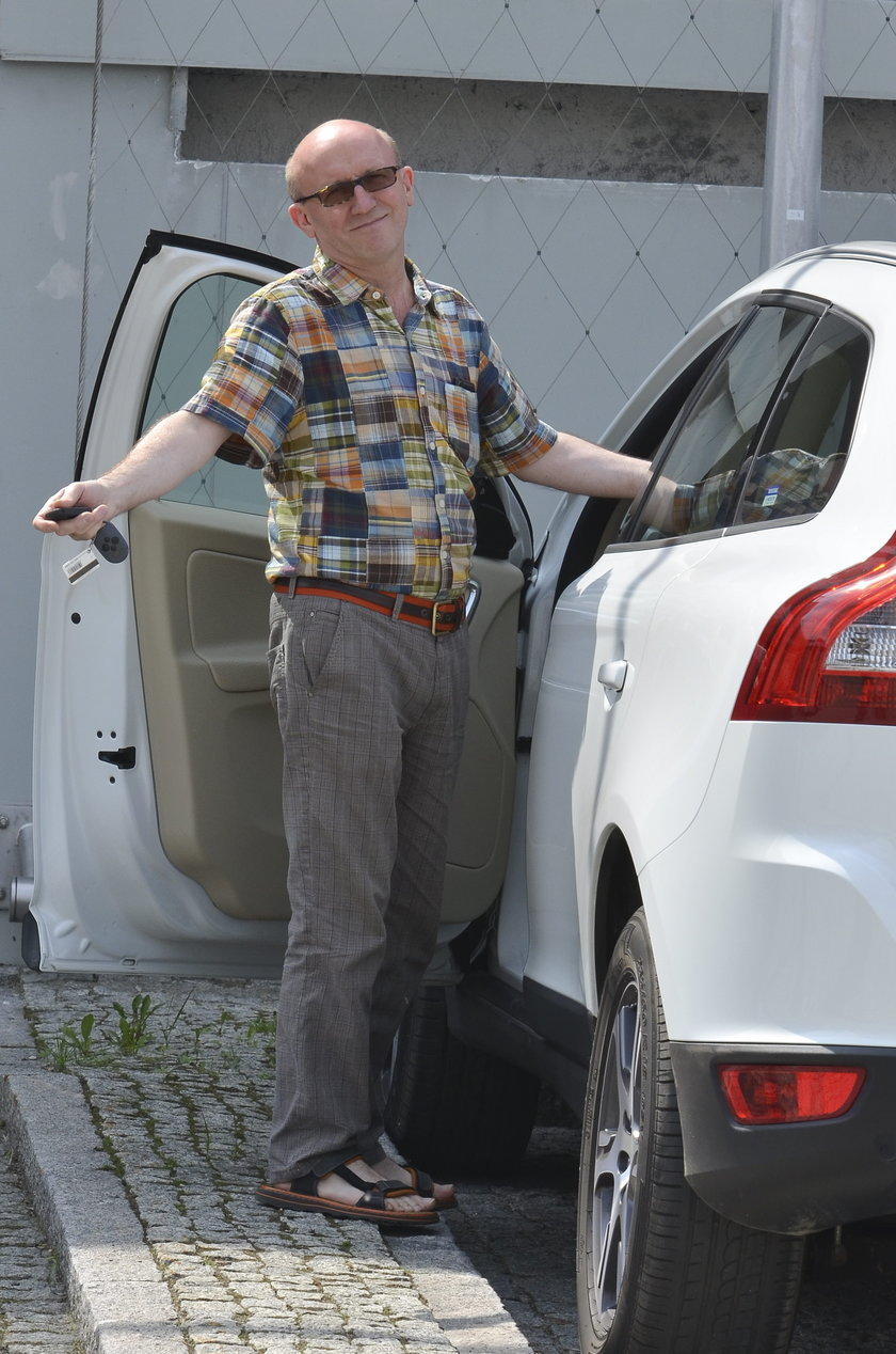 Gwiazdy, którym skradziono samochody: Artur Barciś