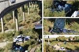 Stravična nesreća na Pančevačkom mostu