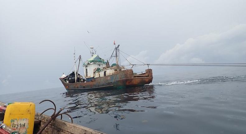 90% industrial trawlers operating in Ghana from China, according to study