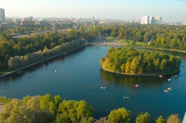 Moskwa, Izmajłowo, park
