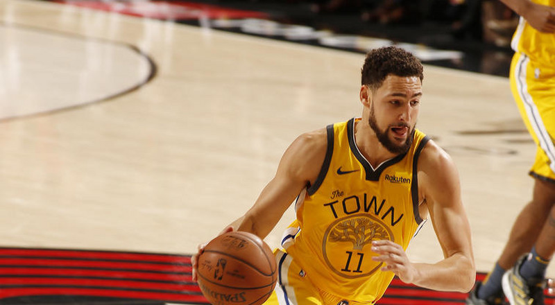 Warriors bounce back with win against TrailBlazers in NBA