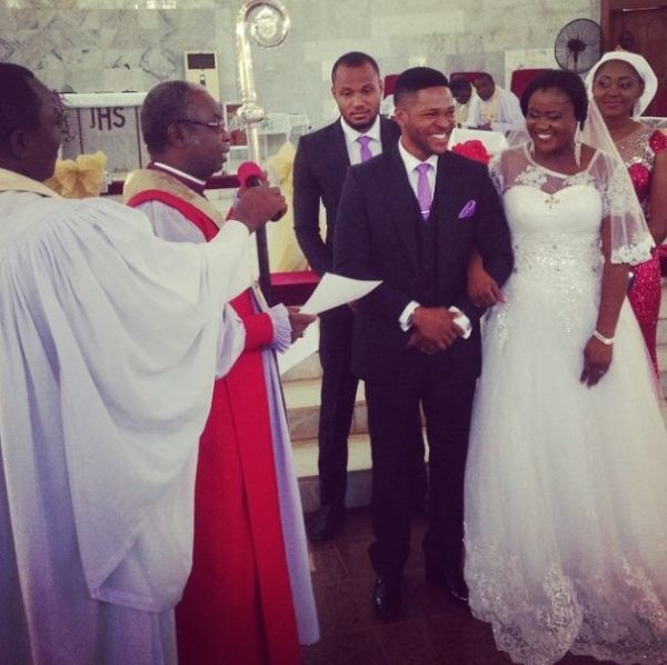 Emma Emordi and Mary Joy Okoye got married in 2014 which was well attended by several celebrities including the superstar siblings of Mary Okoye. They have a son together. [BellaNaija]