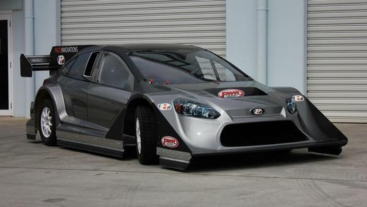 Ford Focus z silnikiem Nissana GT-R o mocy 850 KM