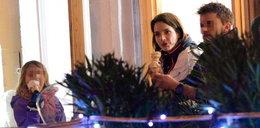 Anna Dereszowska oswaja córkę z nowym tatusiem