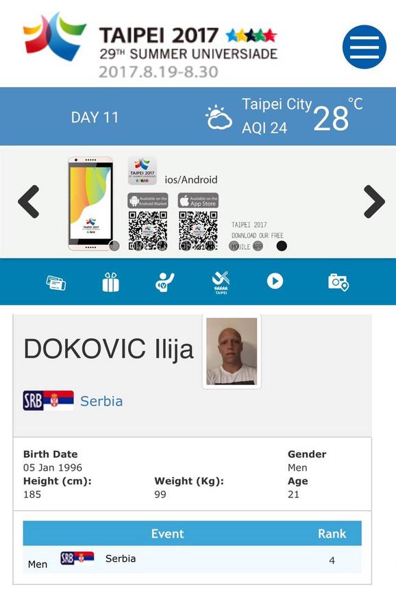 Akreditacija našeg pleja za ponos: Ilija Đoković