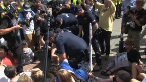 Zamieszki pod siedzibą PiS na Nowogrodzkiej