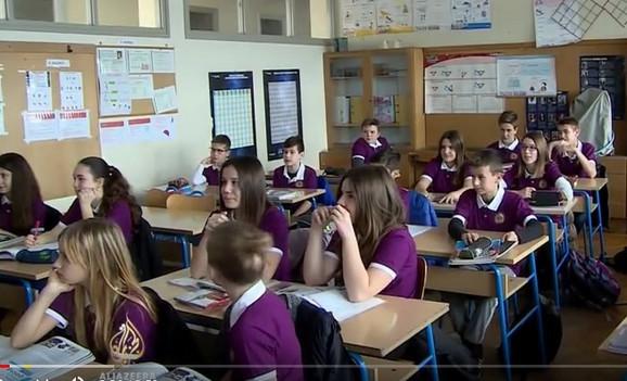 Sportske uniforme nose se u hrvatskim školama