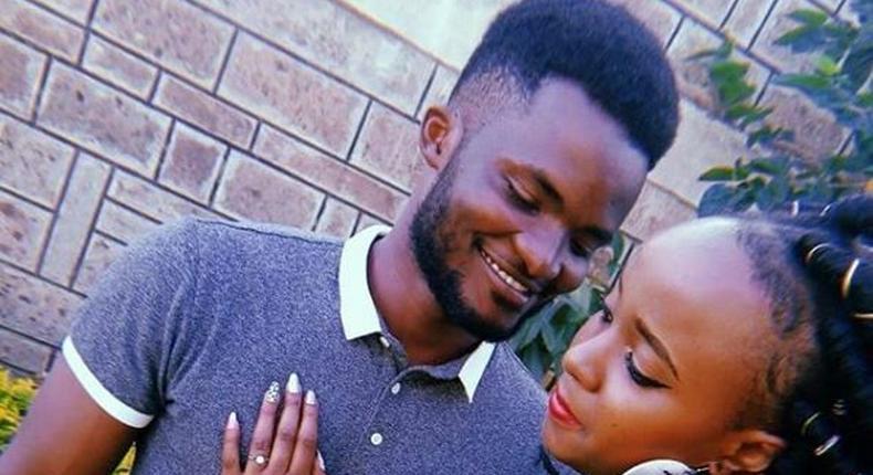 Singer Bruz Newton proposes to longtime girlfriend (Instagram)