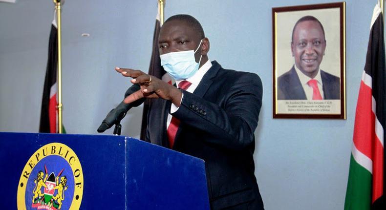 Government Spokesman, Cyrus Oguna