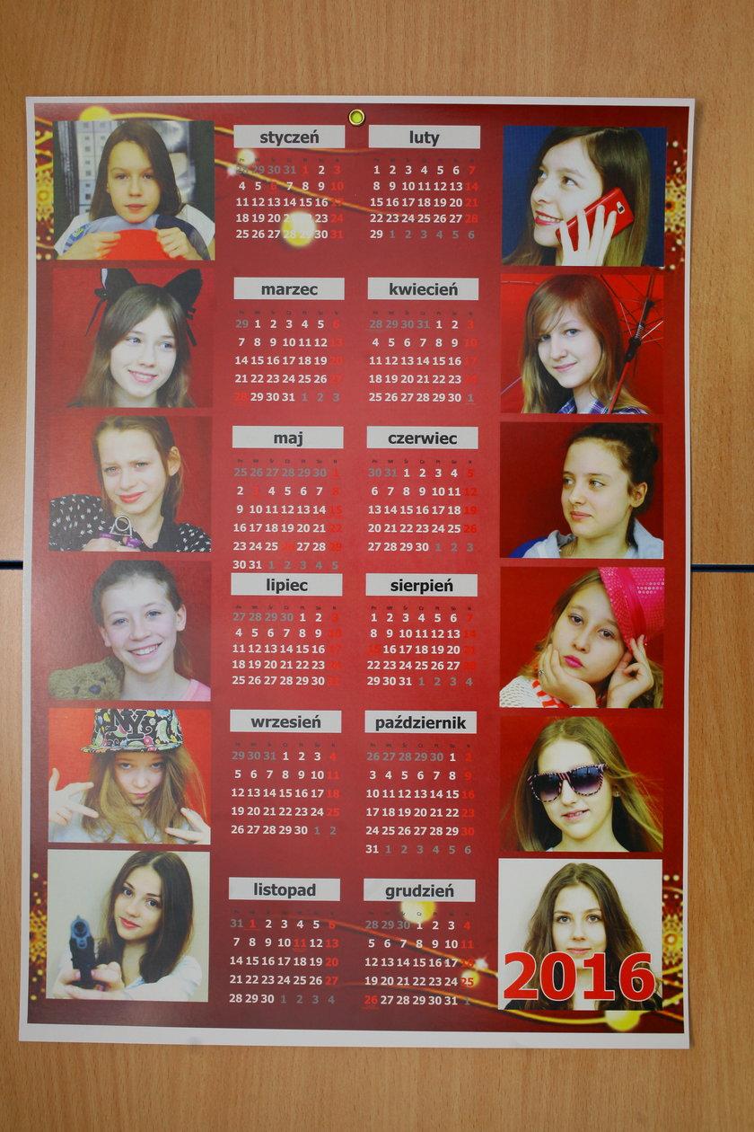 Sprzedają kalendarze, żeby pomoć choremu Mariuszowi