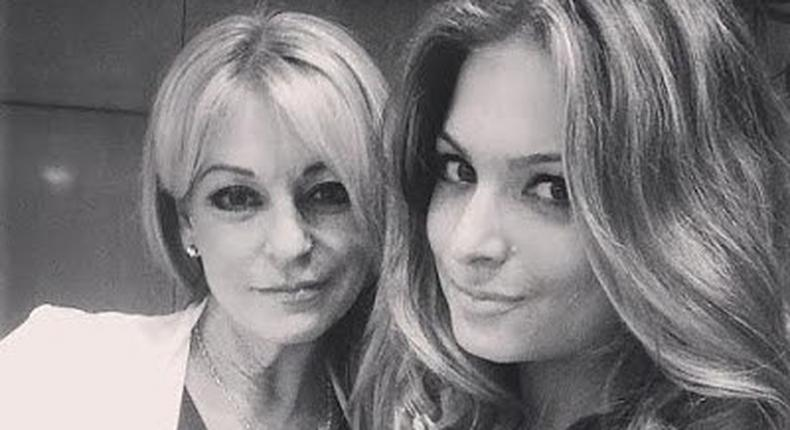 Zara Holland, 20 and her mother, Cheryl Hackney, 51