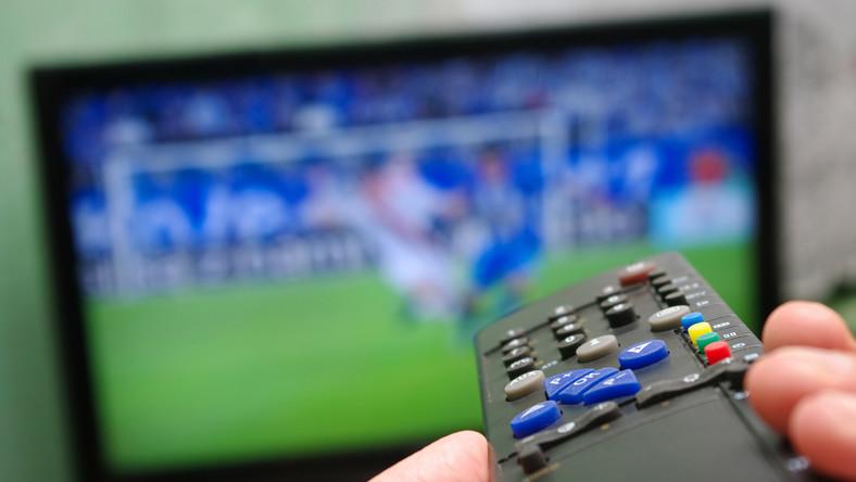 Telewizja. Telewizor. Sport. Mecz