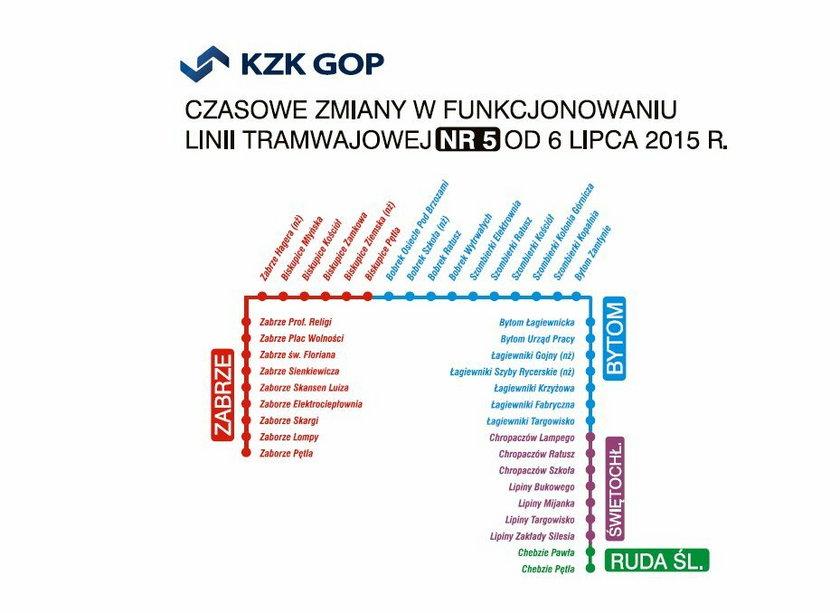 Utrudnienia komunikacyjne w Świętochłowicach