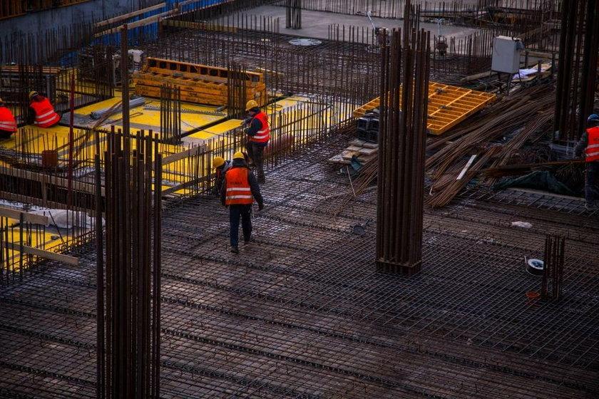 Katowice. Wmurowanie kamienia węgielnego pod budowę dwóch wieżowców