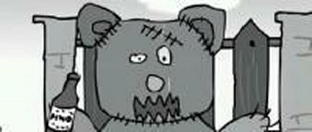 Miś Push-Upek, jeden z bohaterów kreskówek 4fun.tv